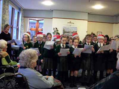 School choir visit