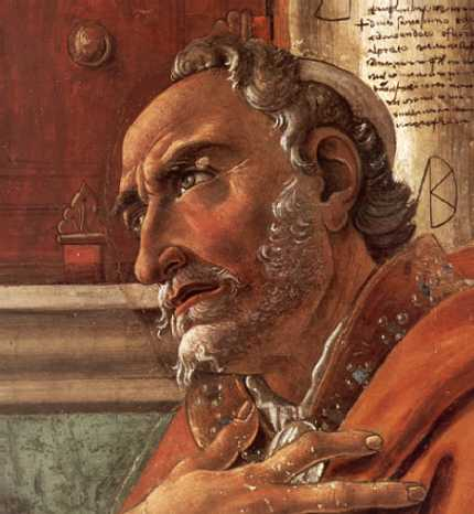 St Augustine by Botticelli