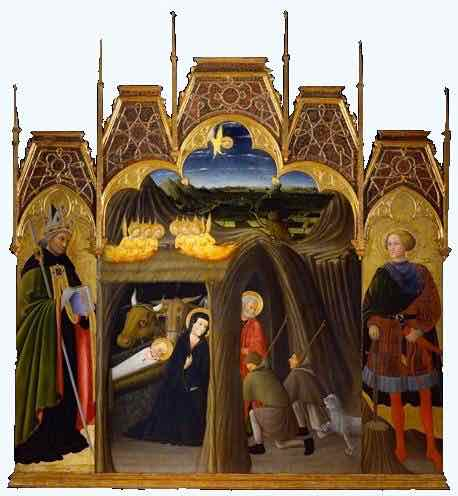 St Augustine and The Nativity