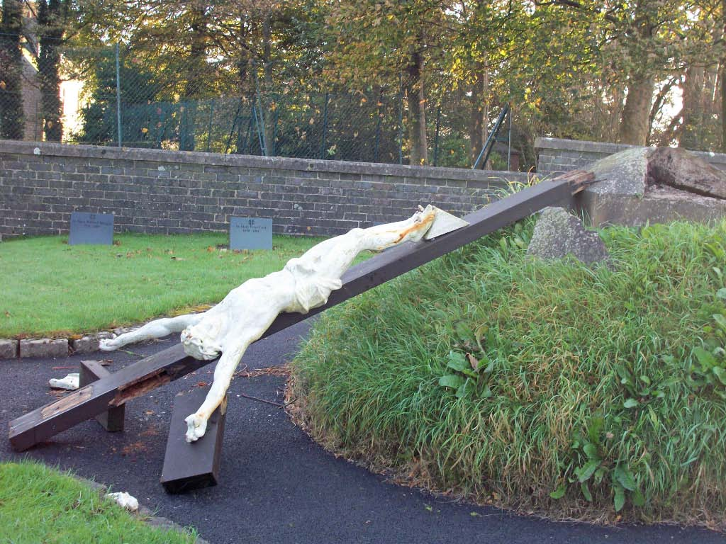 The Crucifix before repair