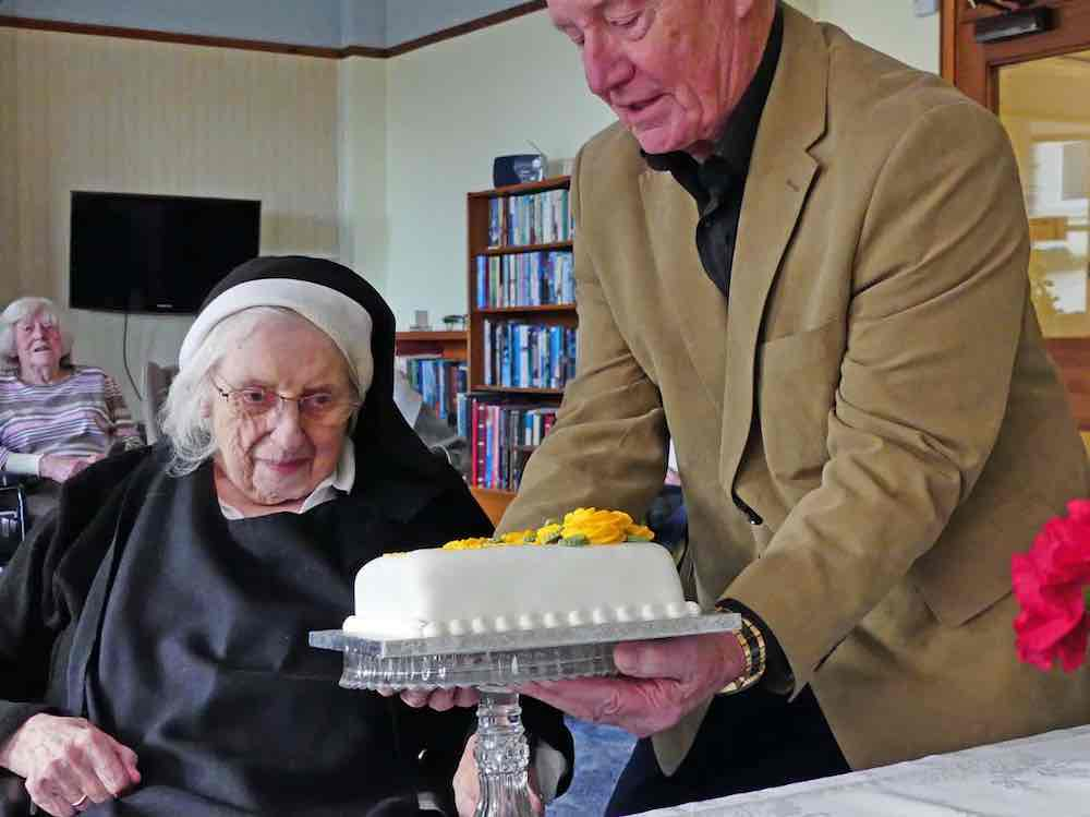 Sr Lawrence jubilee celebration