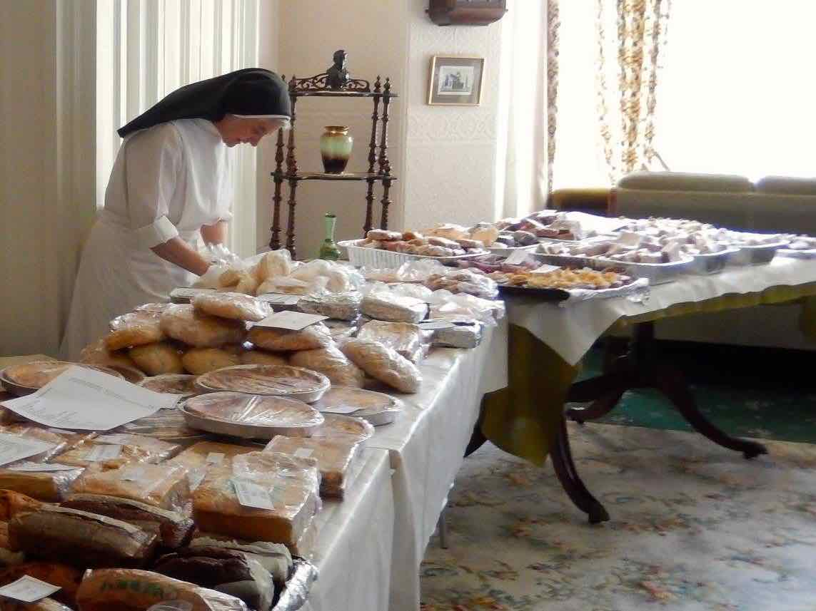 Sr Margaret M and her soda bread