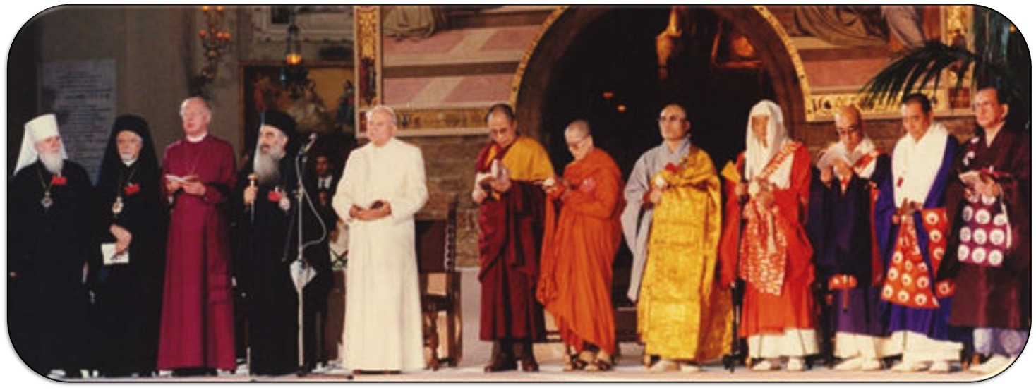 World Faith Leaders 1986