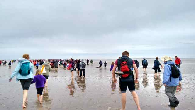 The Crossing of Morecambe Bay